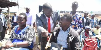 Nandi Governor Stephen Sang said his administration is also empowering those living with disabilities to venture into income generating activities