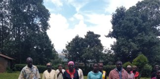Family members led by the late Walibora's step mother