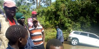 The car plunged into River Kotoruk