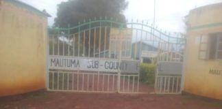 Mautuma sub county hospital where the victim was rushed to