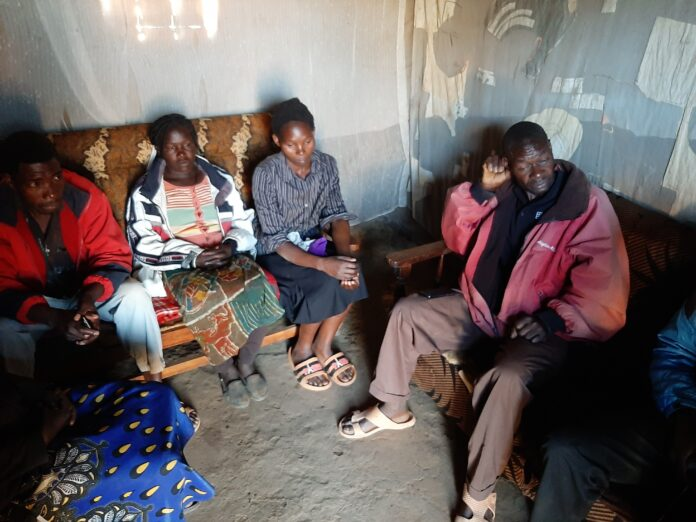 Parents and some relatives of the deceased Silas
