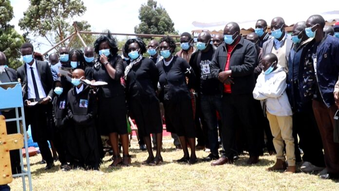 Family of the late Principal Wilson Tich Yego