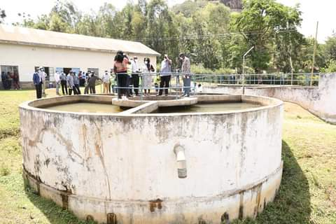 The Malakisi Water Treatment Plant