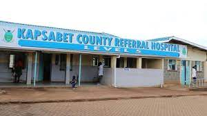 Kapsabet County Referral Hospital where Covid-19 vaccine is on-going