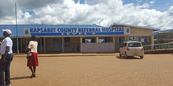 Kapsabet County Referral Hospital where Covid-19 vaccination exercise is ongoing