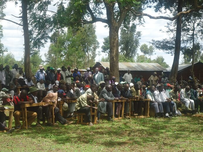 A section of Mautuma central squatters