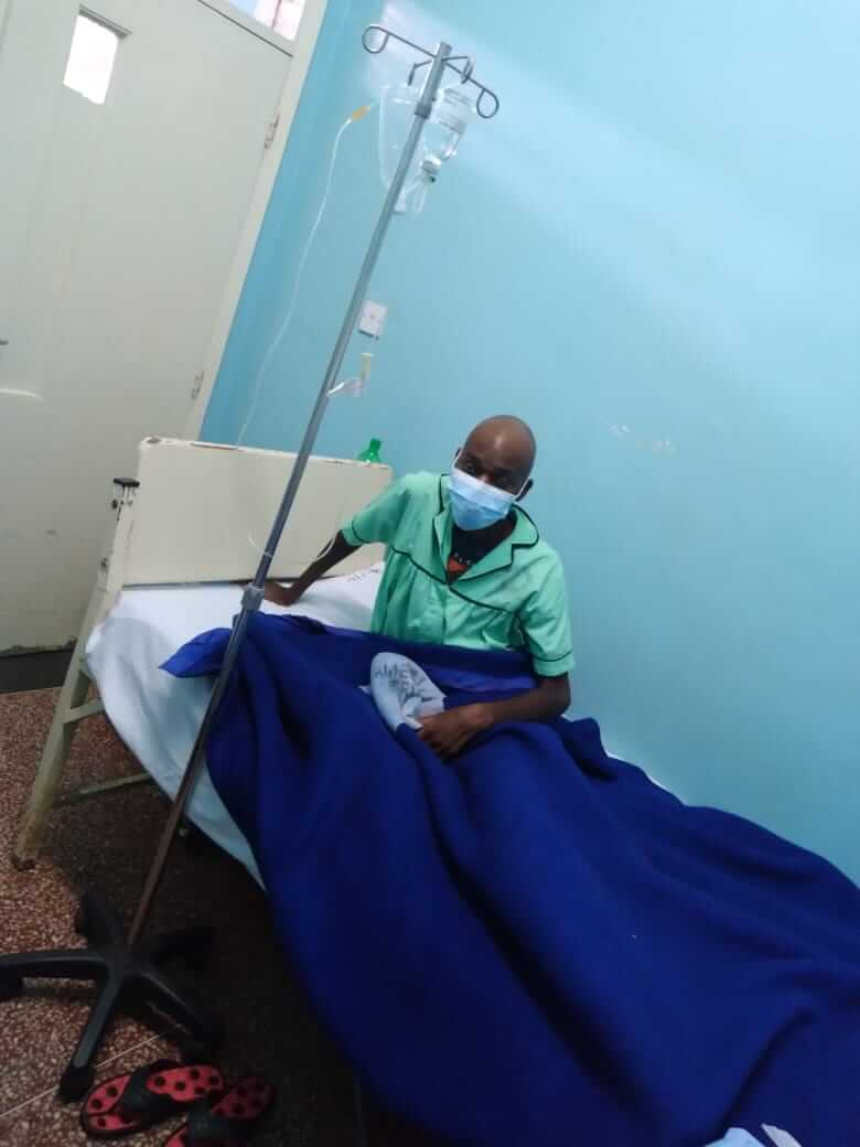 Denis Murabwa who is suffering from blood cancer