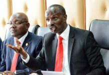 Wilson Sossion in a past function