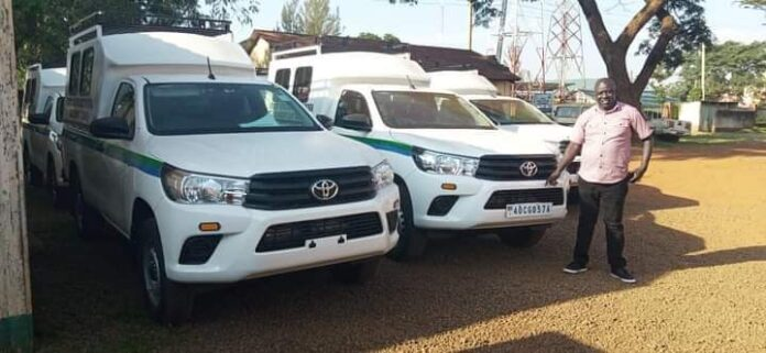 The utility vehicles procured by Busia County Assembly
