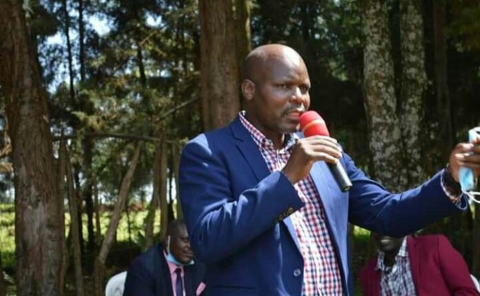 Julius Keter one of the parents
