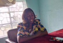 Lugari sub county Adult Education Officer Justina Mmasi when she spoke to media in her office